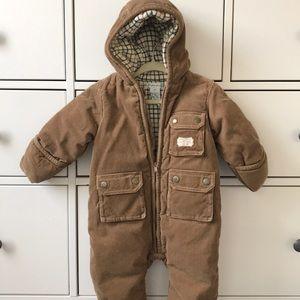 ⛄️ Ralph Lauren Baby Corduroy Snowsuit